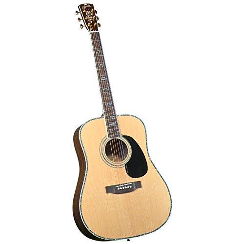 Blueridge Guitars 6 String Acoustic Guitar, Right Handed, Dreadnaught Sitka...