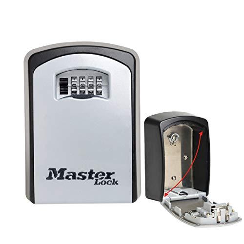 Master Lock Sleutelkluis Extra groot Large zwart en zilver.