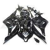 Zxmoto H0609BLK Motorcycle Bodywork Fairing Kit for Honda CBR 600RR 2009-2012 Gloss Black - (Pieces/kit: 29)