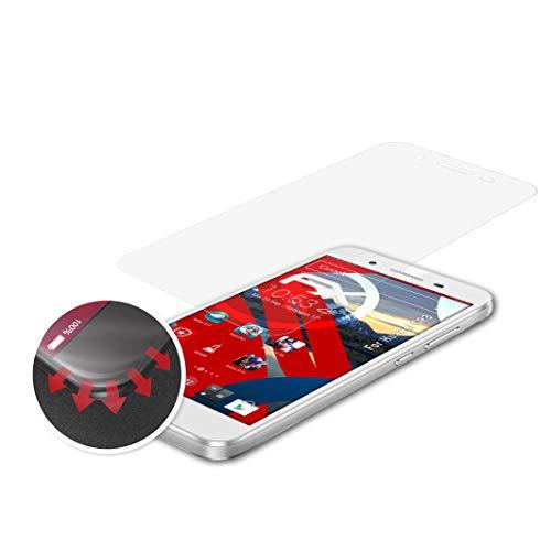 atFolix Schutzfolie kompatibel mit Huawei GR3 Folie, entspiegelnde & Flexible FX Bildschirmschutzfolie (3X)