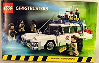 ghostbusters lego instructions