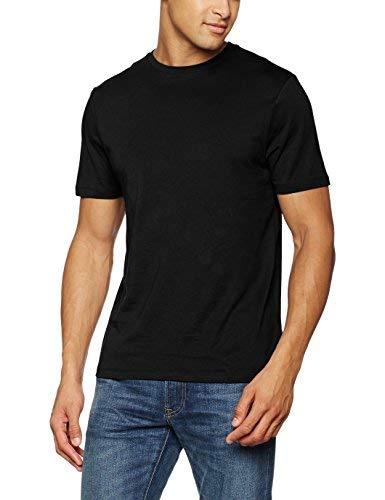 New Look 5075478 Maglietta, Nero (Black 1), M Uomo