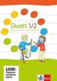 Duett 1-2: 3 Audio-CDs und 1 DVD zum Schülerbuch Klasse 1/2 (Duett. Allgemeine Ausgabe ab 2016)