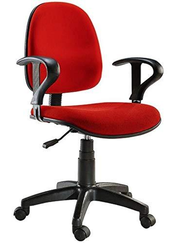Techly 307513 Sedia per Ufficio Easy Colore Rosso Rosso