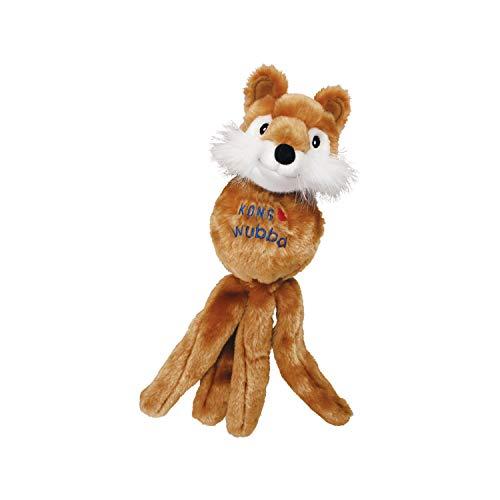 KONG – Wubba Friends – Quietschendes Apportierspielzeug (Verschiedene Figuren) – Für Große Hunde