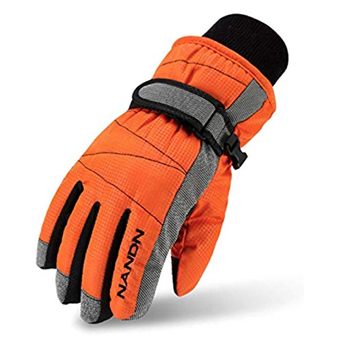 TRIWONDER Thermo-fleece skihandschoenen snowboard handschoenen warme winterhandschoenen voor jongens meisjes