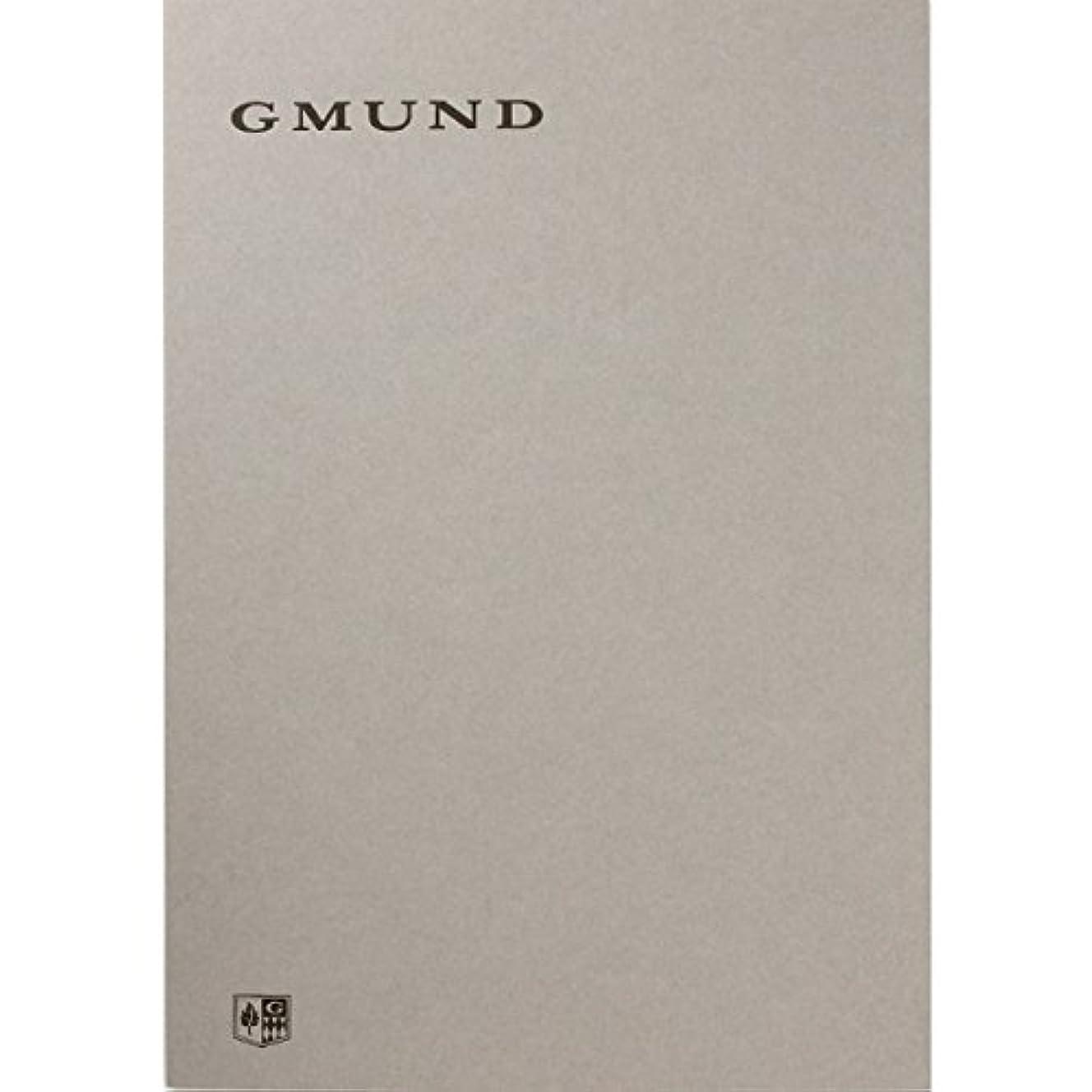 グムンド ノートパッドL グレー/ブルー