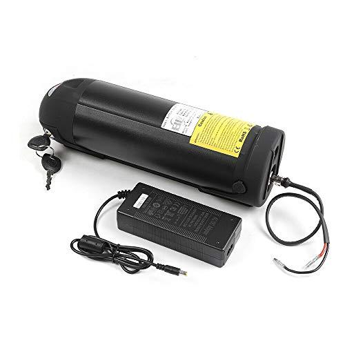 Cargador para bicicleta eléctrica de adultos, 36 V, 10 Ah, cargador rápido de 42 V, 2 A, adaptador negro