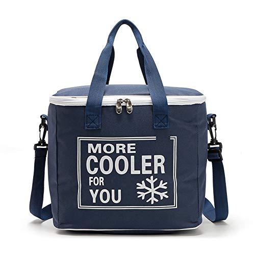 Dxlta Picknick-Taschen-Kühltasche 20L im Freien Oxford-Stoff-wasserdichter Isolierungs-Mittagessen-Kühlkasten