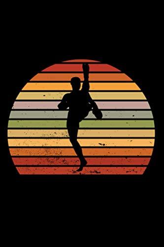 Kickboxen: Notizbuch a5 punktiert mit 120 Seiten | Tolles Geschenk Kickboxer Kickboxen Training Sport Hobby Muttertag Vatertag Geburtstag Weihnachten Notizblock Notizheft Journal