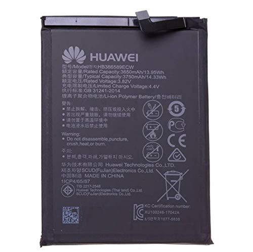 Batteria di ricambio da 3750 mAh HB386589ECW per Huawei Mate 20 Lite, P10 Plus, Honor View 10