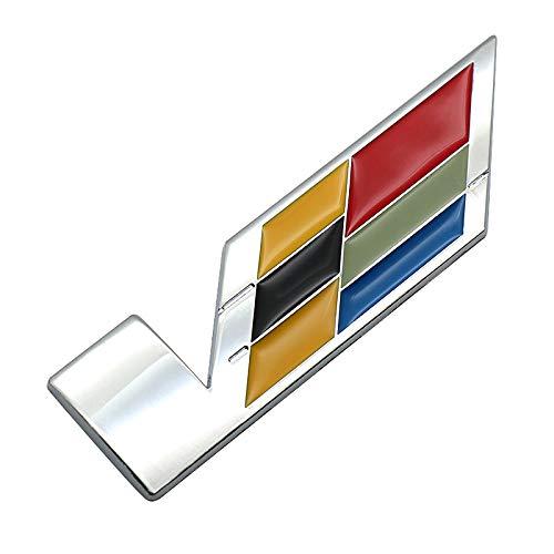 1Pcs 3D Trunk Fender V SERIES Emblem Badge Decal Replacement for CTS ATS XLR SLS (Chrome)