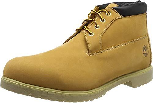 Timberland Herren Newman Premium Waterproof Chukka Boots, Gelb (Wheat), 42 EU