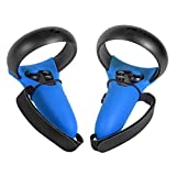 Cubierta de Agarre del Controlador táctil de Silicona VR, Correa de nudillo anticaída, Cubierta de Joystick a Prueba de Sudor para Oculus Quest/Rift S