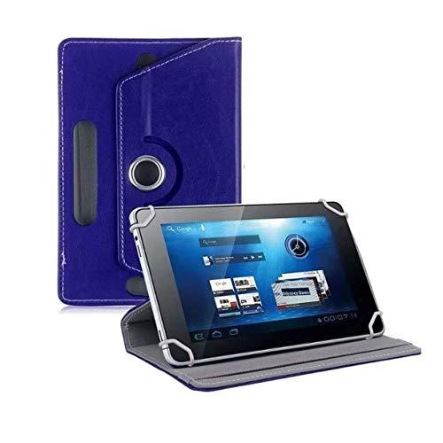 Mazurr 7 Zoll Universal Flat Case Kristallmuster Universal Schutzhülle Tablet Universal Ledertasche