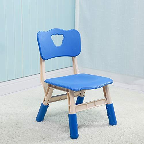 ensemble table et chaises Siège de Jardin d'enfants, avec Dossier, Fauteuil de Levage en Plastique pour Enfants, Multicolore en Option (Hauteur réglable sur Trois)