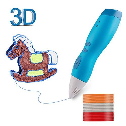 Donwell - Bolígrafo 3D con 3 colores de 1