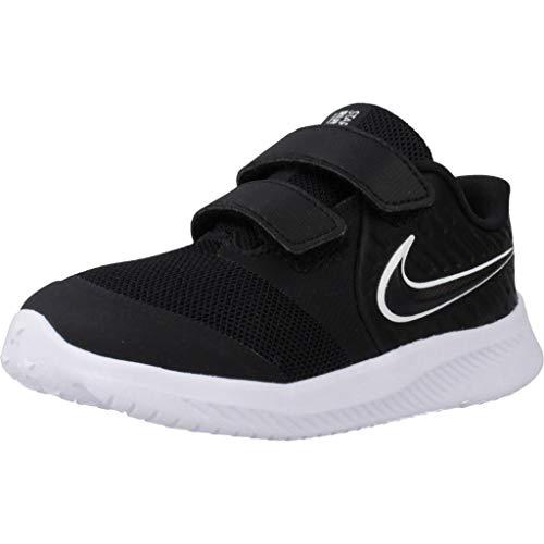 Nike Jungen Laufschuhe Star Runner 2 (TDV) Schwarz 27 EU