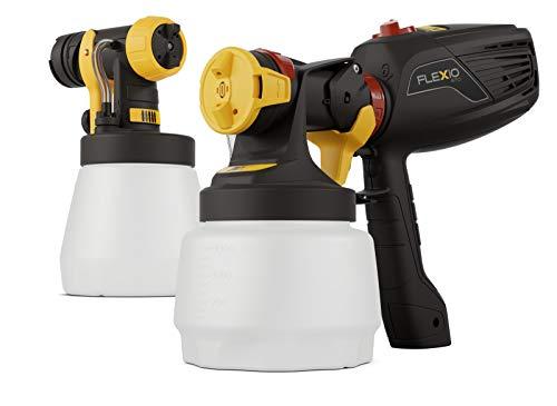 WAGNER Farbsprühsystem W 570 FLEXiO für Dispersions-/Latexfarben, Lacke & Lasuren im Innenbereich, 15 m²-6 min, Behälter 1300 ml/800 ml, 630 W