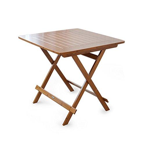 LiuJianQin ZDZ Table Pliante/Table carrée/Bureaux extérieurs de Livre/Table / Table Se Pliante portative portative pour la Table Basse d'usage Domestique (Taille : 90 * 90 * 76CM)