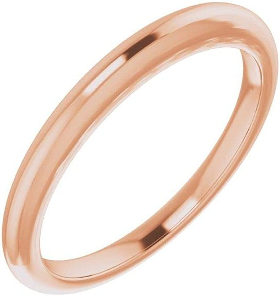 Solid 10K Rose Gold Curved Notched Hear 5% OFF 10x10mm Band for Max 66% OFF Wedding