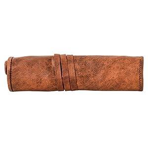 41PRcC2tdnL. SS300  - Gusti Cuero Nature Tony Estuche de Cuero para Cigarrillo Electrónico Baterías Funda Retro Vintage S16b