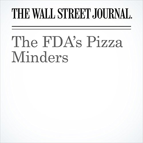 The FDA's Pizza Minders copertina