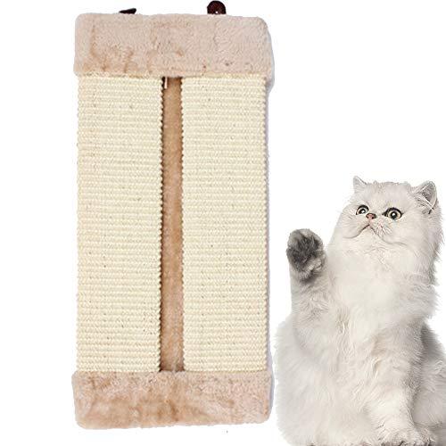 Apofly Khaki Durevole Cat Tiragraffi Pieghevole a Parete ad Angolo Gatto Che graffia Consiglio Sisal Cat Scratcher del Gatto dell'animale Domestico Struttura per arrampicarsi tiragraffi per Gatti