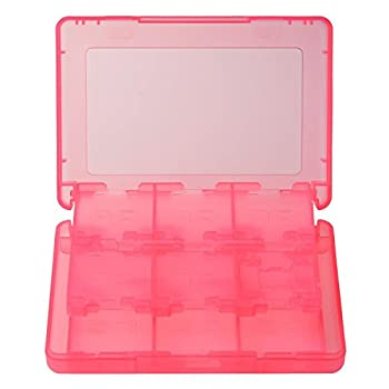 Gam3Gear 28 in 1 Game Card Memory Card Stylus Storage Case for Nintendo 3DS 3DS XL Pink