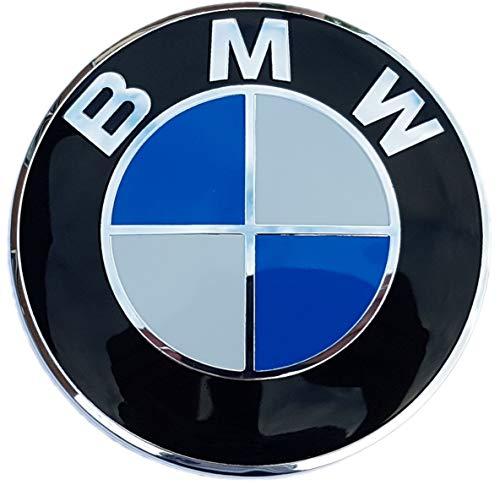82mm Motorhaube/Heckklappe/Kofferraumdeckel Emblem für BMW, [1-2-3-5-6-7-8-X-Z reihe] 51148132375