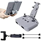 2021 FPVtosky No Disassembly Tablet Holder for DJI Mini 2 Mavic Air 2 / Air 2S, Foldable iPad Mount Holder Pack of Lanyard and 2 Data Cables, DJI Mini 2 Accessories