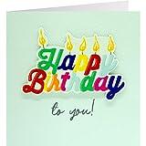 Sheepworld, Gruss und Co. - 90821 - Klappkarte, mit Umschlag, Quadratisch Schön, Nr. 33, Geburtstag, Happy Birthday to you!