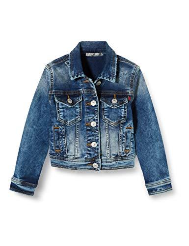 LTB Jeans Mädchen Eliza G Jacke, Blau (Mirage Wash 52156), 164 (Herstellergröße: 14)