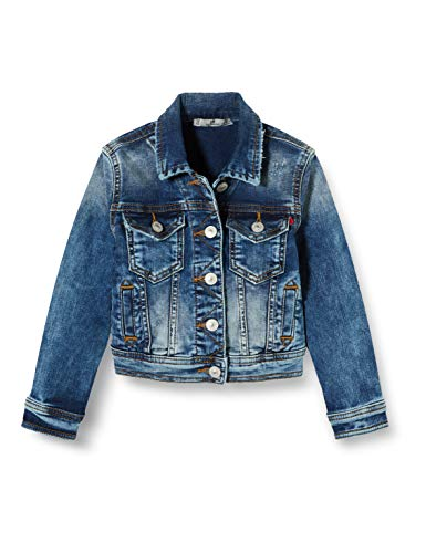 LTB Jeans Mädchen Eliza G Jacke, Blau (Mirage Wash 52156), 128 (Herstellergröße: 8)