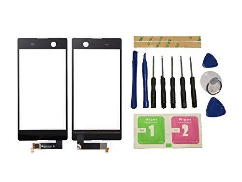 Flügel pour Sony Xperia M5 E5663 E5603 E5653 E5606 Ecran Vitre Tactile Noir Touch Screen Digitizer (Non LCD) de Remplacement & Outils