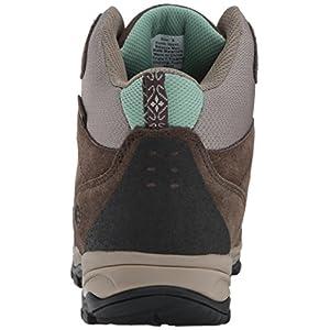 Northside Women's Freemont Waterproof Hiking Boot, Dark Brown/Sage, 6.5 M US