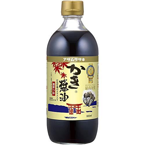 アサムラサキ かき醤油 600ml