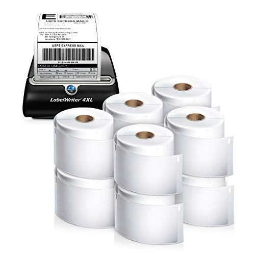 DYMO LabelWriter 4XL Thermal Label Printer (1755120) plus 10 bonus rolls