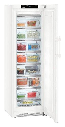 Liebherr GNi 4355 Independiente Vertical Blanco 270 L A+++ - Congelador (Vertical, 270 L, 18 kg/24h, SN-T, Sistema de descongelado, A+++)