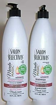 Salon Selectives Marula Magic Shampoo And Conditioner Set 22.5 Fl Oz Each