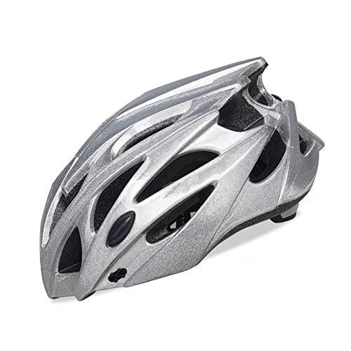 Bluetooth earphone Cascos De Ciclismo, Casco De Seguridad Hombre Formando Casco Bicicleta Montaña Integrada Casco De Montar para Hombres Mujeres (Size : Medium)