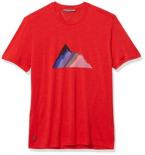 Preisvergleich Produktbild Icebreaker Herren Mens Spector Ss Crewe Seven Summit Stack Unterhemd,  Rakete,  2XL