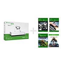 Xbox One S 1 TB All Digital Edition ソフト4本セット Forza Horizon 3 + Minecraft ダウ...