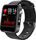Smartwatch for Men Women with Heart Rate Monitoring Blood Pressure Sleep Tracker Calorie Counter Information Push Business Watches