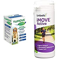 As seen on TV - the UK's No.1 veterinary joint supplement brand enjoyed by happier, healthier dogs. Kynetec VetTrack September 2020. Sales of YuMOVE branded products through veterinary wholesalers. Item package may vary AddedN-Acetyl D-glucosamine t...