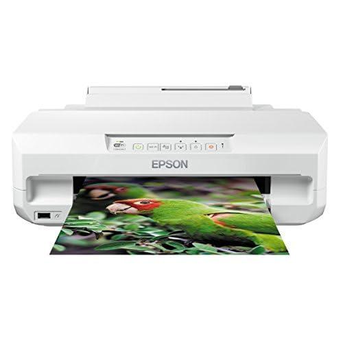 Epson Expression Photo XP-55 Stampante Wi-Fi a 6 Colori, Stampa su CD/DVD, Dotata di Epson Connect, Stampa Foto e Formati A4, Possibilità di Stampa Fronte e Retro, fino a 32 ppm