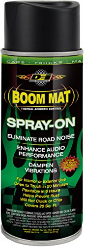 DEI 050220 Boom Mat Spray-on Sound Deadening to Reduce Unwanted Road Noise and Vibration, Multi, One Size