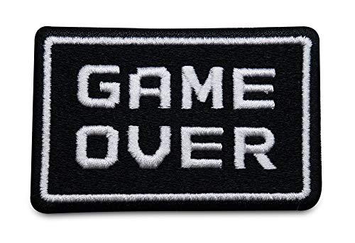 Finally Home Game Over Bügelbild Patches zum Aufbügeln | Patch, Aufbügelmotive