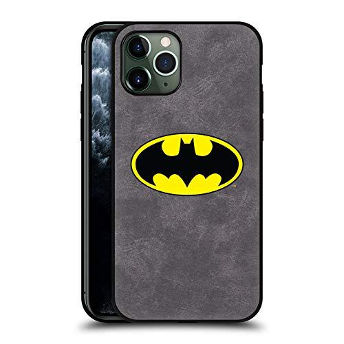 Head Case Designs - Carcasa de piel para Apple iPhone, diseño de Batman DC Comics, compatible con Compatibilité: Apple iPhone 11 Pro: 64GB, 256GB & 512GB