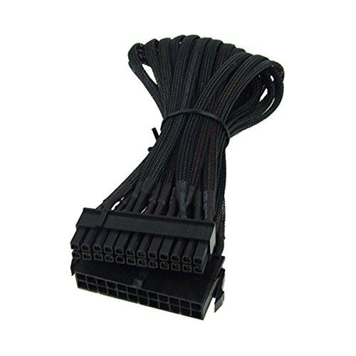 Phobya 24Pin Netzteil Verlngerung 30cm Innenraum ATX (24-Pin) ATX (24-Pin) schwarz